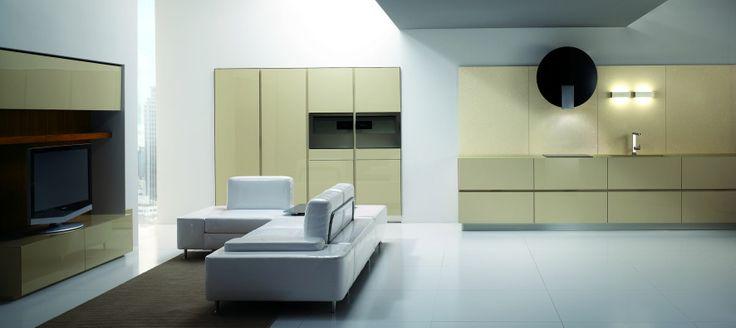 Brakuje ciepła w nowoczesnej kuchni? Pomysł na idealną parą kolorów.  www.ebano.pl   #kuchnia #meblekuchenne #nowoczesnekuchnie #design