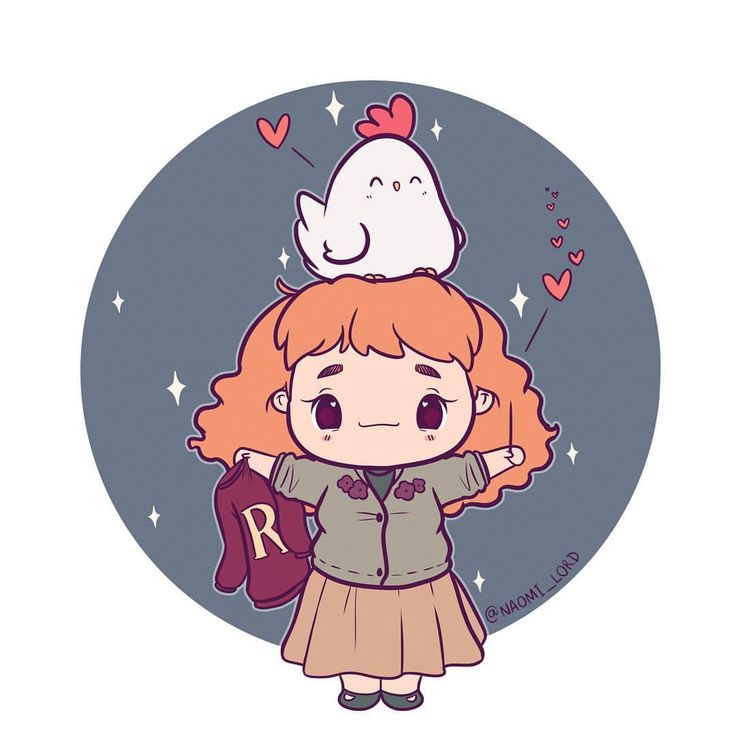Molly Weasley! 🐔💕 She's a sweety, the Weasley parents are just such cute characters :3 Did they ever mention the chickens in the movie because the Weasleys had chickens if you're wondering why she's got a chicken on her head 😂💕 • #mollyweasley #weasley #harrypotter #harrypotterart #harrypotterfanart #fantasticbeasts #weasleys #ron #ronweasley #cute #kawaii #chibi #instaart #instadaily #instaartist #illustrationoftheday #illustration #digitalart #digitalpainting #doodle #art #drawing