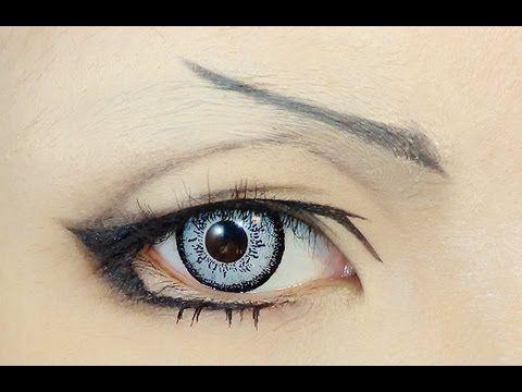▶ Tutorial : Anime Eye Makeup 44 - YouTube