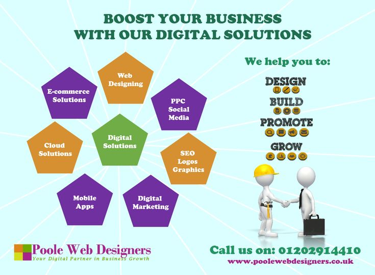 Why not boost your business online!    Call us on: 01202914410