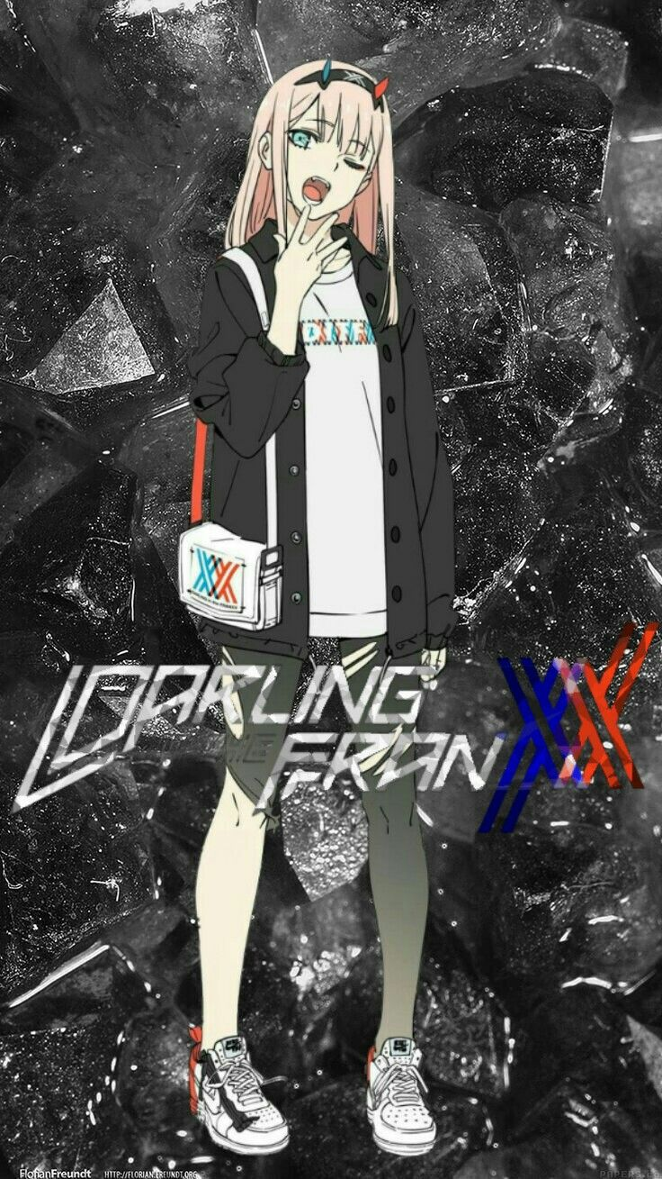 Pin de 016._.hiro em Wallpaper Darling in the FranXX