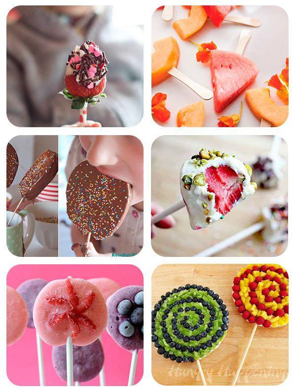 Nos encanta presentaros modos diferentes y originales para presentar los platos a los peques, y en ello la fruta es la reina porque da muchas posibilidades. A lo largo del tiempo os hemos mostrado muc