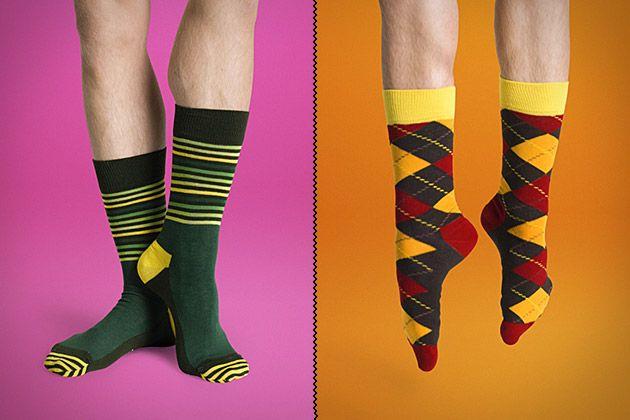 I have like a dozen of these sorta socks.