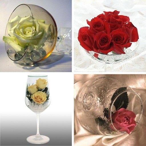 Плавающие цветы или цветочные лепестки для украшения дома к 8 марта