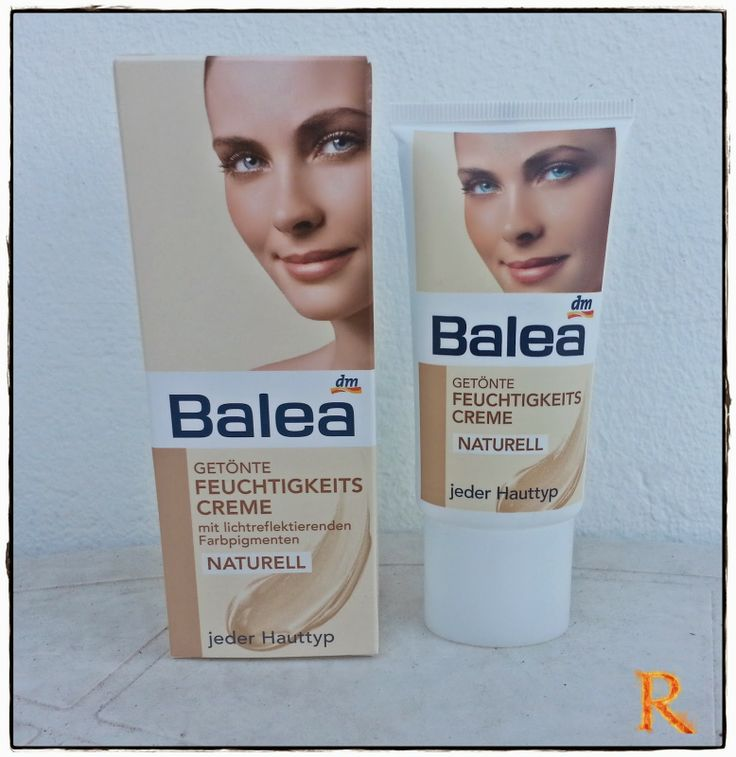 """Russkajas Beautyblog: Review - Balea Getönte Feuchtigkeitscreme """"Naturel..."""