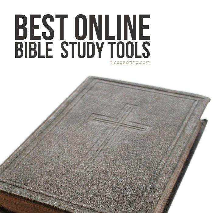 Best Online Bible Study Tools Comparison | Tico ♥ Tina