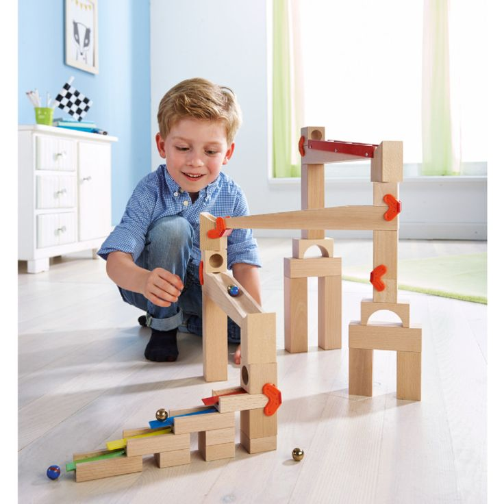 HABA Kugelbahn Klingeling - Exklusiv für Babymarkt.de #HABA #Kugelbahn #Spielzeug #Kinderspielzeug #Klingeling #Zick-Zack-Bahn #Holzkugelbahn  #Murmelbahn #Klangmurmeln #ab3Jahren