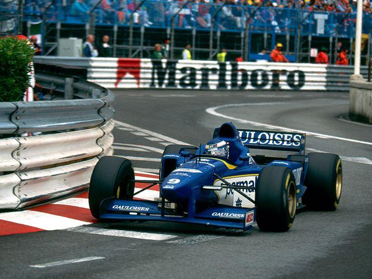 Olivier Panis (Ligier Gauloises Blondes), Ligier JS43 - Mugen-Honda MF-301 HA 3.0 V10, 1996 Monaco Grand Prix, Circuit de Monaco