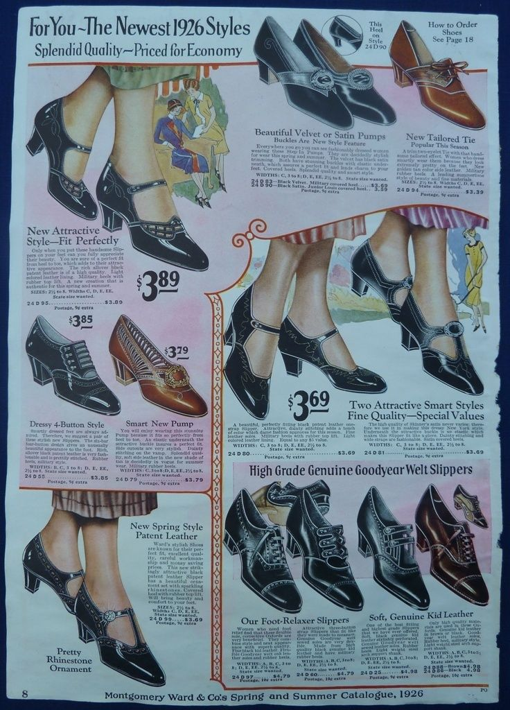 158 Best Images About 1920s Shoes And Stockings On Pinterest