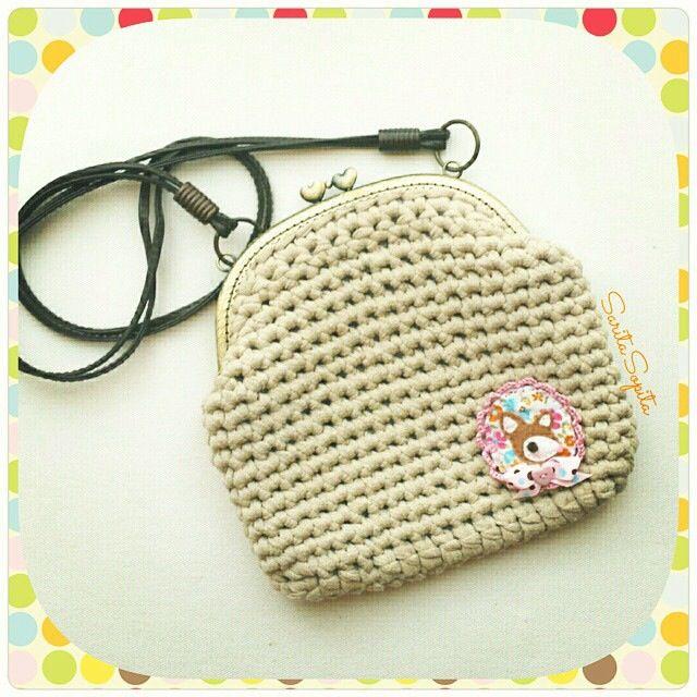 Bolsito crochet SaritaSopita