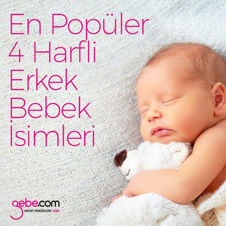 Ebeveynler bebeklerine verecekleri isim konusunda hep bir arayış içerisinde olurlar. Bu konuda kararsız olan anne babalar için bebeklere verilen en popüler 4 harfli erkek bebek isimleri listesini hazırladık. ▶️goo.gl/y5SLG9