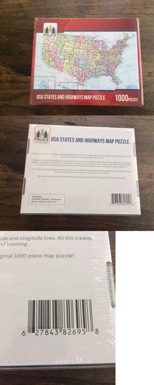 Puzzles & Geduldspiele Spielzeug Highways,Roadway NEW United ...