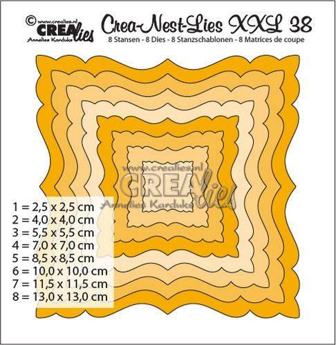 Wykrojnik CREAlies - CLNestXXL38