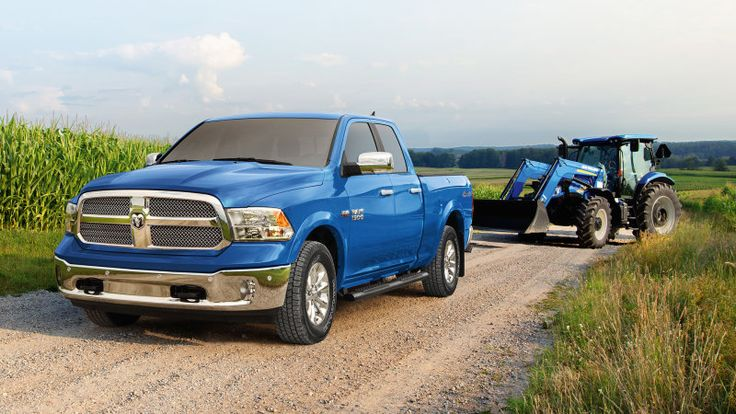 Color match your 2018 Ram to your tractor with new Harvest Edition
