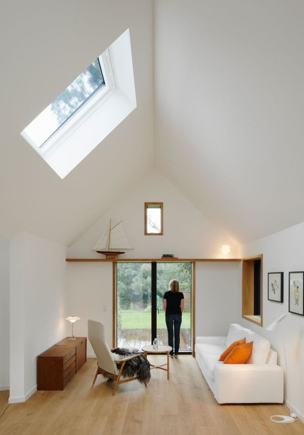 Interior at weekend summer house in northern Sjælland, Denmark by Powerhouse Company