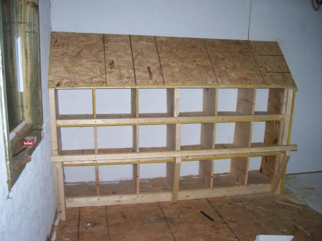 Idea for one wall making with pallets