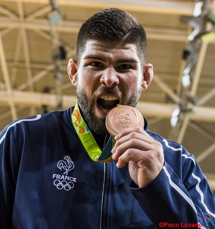 Cyrille Maret médaille de bronze de judo aux JO de Rio 2016