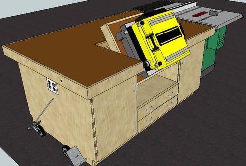 Mobile Assembly Table By Justin Lumberjocks Com
