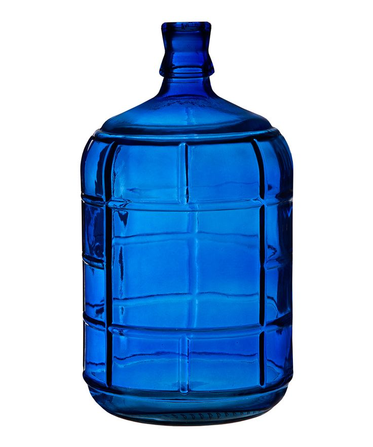 Home Essentials and Beyond Cobalt Round Bottle