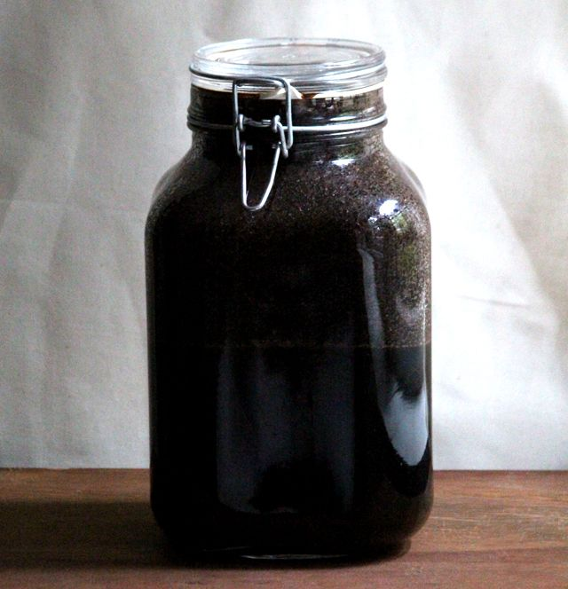 Cold-Brew Iced Coffee Concentrate