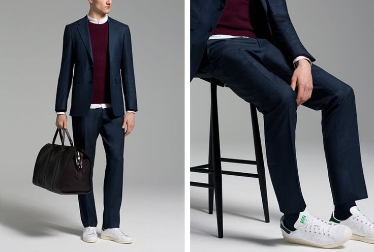 Suits And Sneakers | Dress Code | The Journal | Issue 209 | 26 March 2015 | MR PORTER