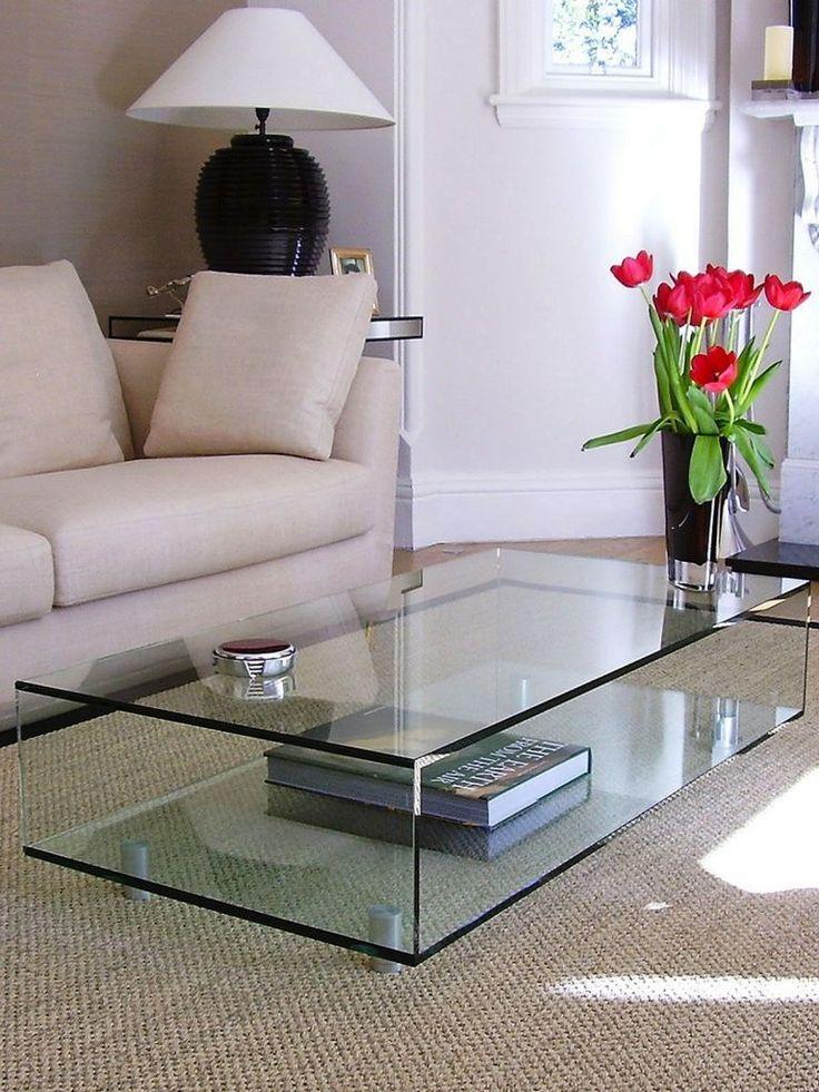 Coffee Table Decor Living Room, Glass Living Room Furniture