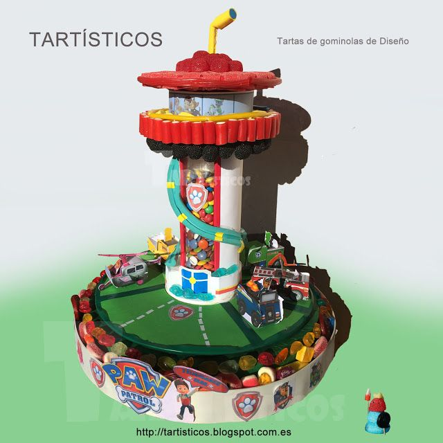 Patrulla Canina de Gominolas TARTISTICOS