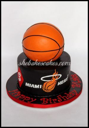 Miami Heat Cake Be inspirational ❥|Mz. Manerz: Being well dressed is a beautiful form of confidence, happiness & politeness