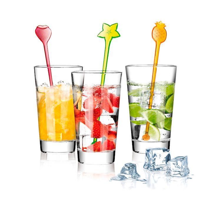 Juego de 6 agitadores para mezclas de alcohol|TescomaOnline.es  http://www.tescomaonline.es/bebidas-125076/botelleros-articulos-de-bar-accesorio-138076/mydrink-141076/mydrink-juego-de-6-agitadores-cocktail--linea-mydrink-606071/
