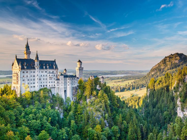 As Germany gears up for Oktoberfest, take a scenic tour of some of the country's most beautiful sites.