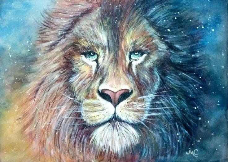 Король лев , батик