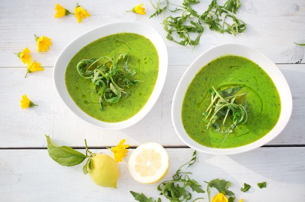 Schnelle Detox-Suppe