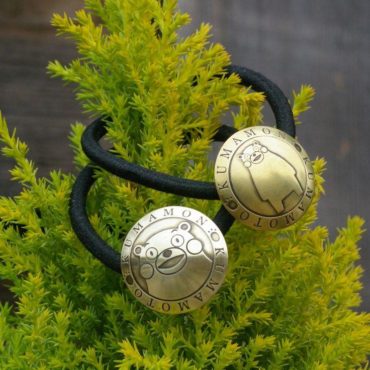 CONCHO -オリジナルの真鍮製コンチョ- – OUROBOROS-CRAFT#コンチョ#へアゴム#真鍮#くまモン#くまモングッズ#ouroboros#brass#dogtag#concho#leathercraft