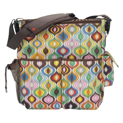 Skip Hop Jonathan Adler Duo Diaper Bag - Wave. bout to have another baby just so I can use one of these J.A .for Skip Hop bags!