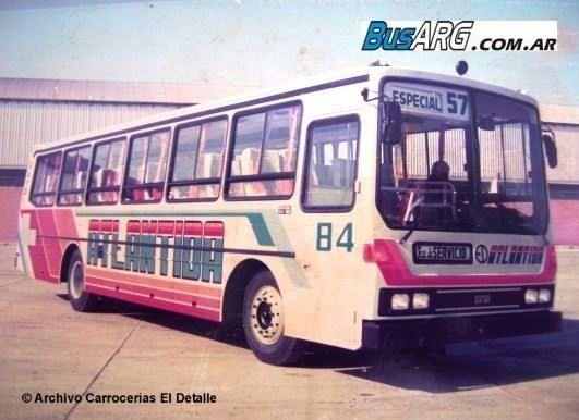 busarg.com.ar - 002 - Líneas de Concesión Nacional 051/100/Los eternos OA 101 de la Atlántida