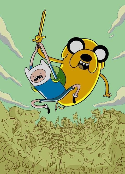 Adventure Time (2010) Poster-- you need this.