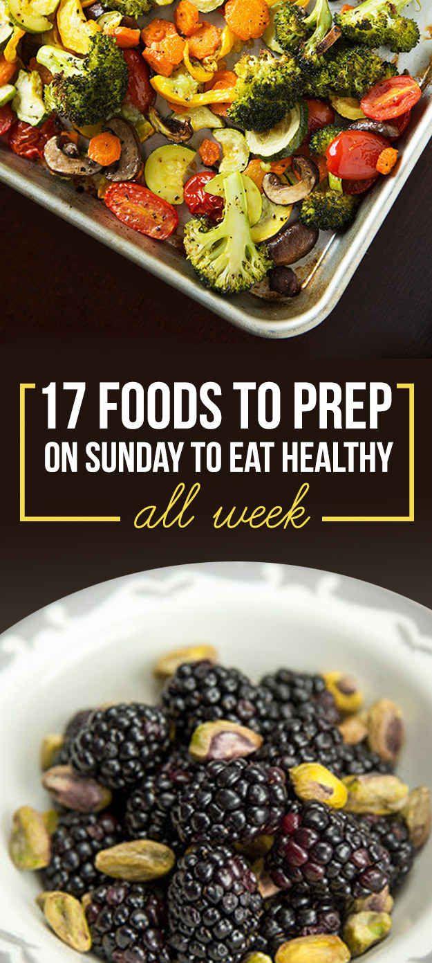 17 Meal Prep Ideas #organize #healthy