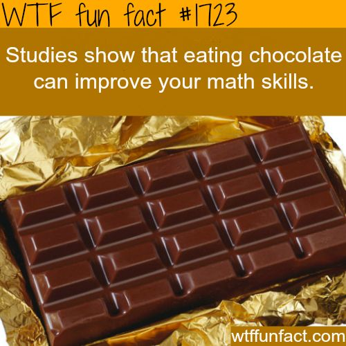 Chocolate facts - WTF fun facts