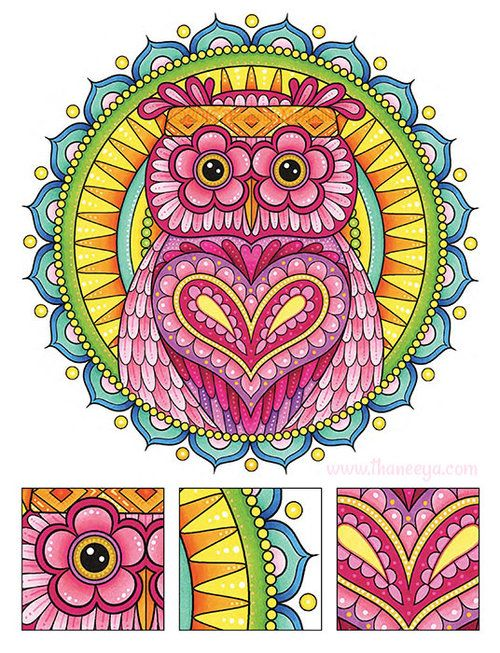 186 Best Coloring Books By Thaneeya Images On Pinterest