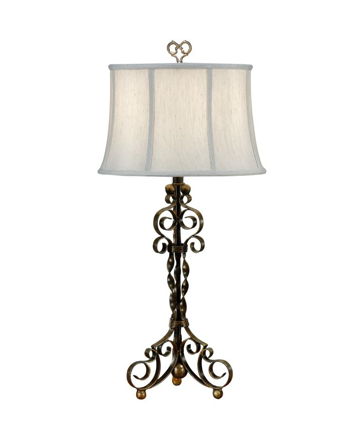 Wildwood 46462 Curly Iron 30 Inch Table Lamp