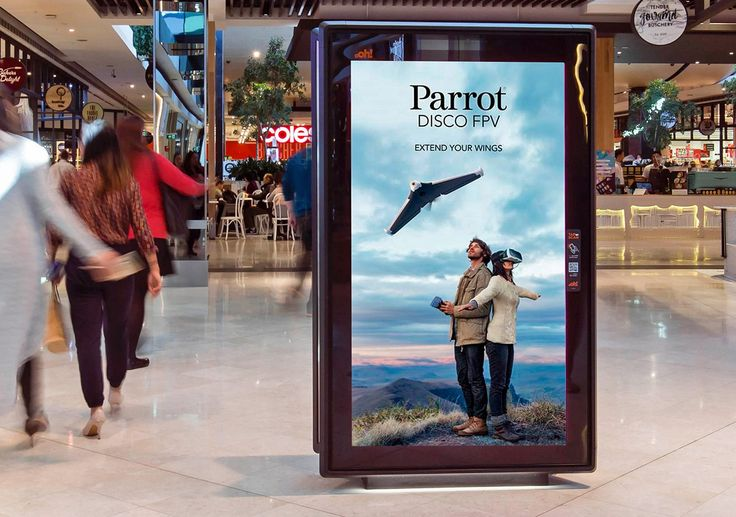 Parrot's Holidays Campaign Drives Sales Using DOOH Screens. Read more on ScreenMedia Daily. #digitalsignage