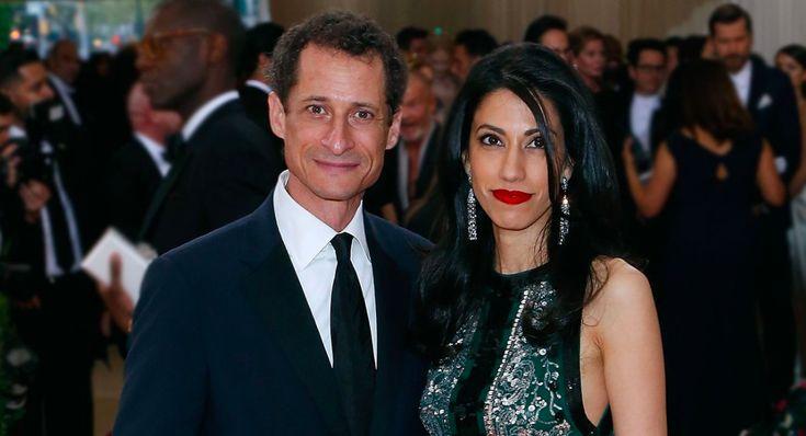 Huma Abedin, Anthony Weiner no longer divorcing...kind of