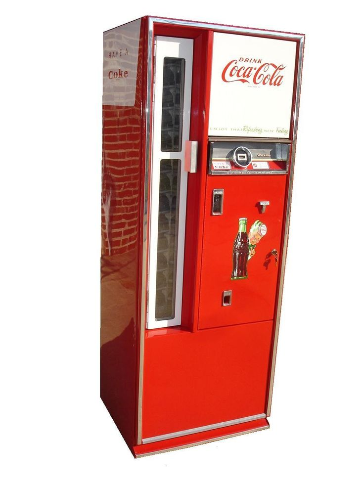 Coca Cola Replica Soft Drink Machine