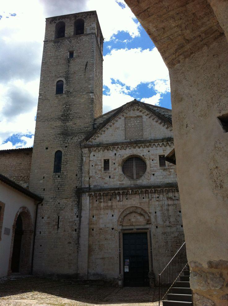 Chiesa di San Ponziano (santo patrono di Spoleto), costruita in stile romanica nell XII secolo.
