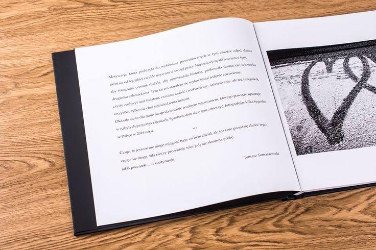 Reportaż jedno ma imię - Tomasz Tomaszewski, a świetna jakość druku atramentowego w najnowszej technologii - DreamBook PRO.