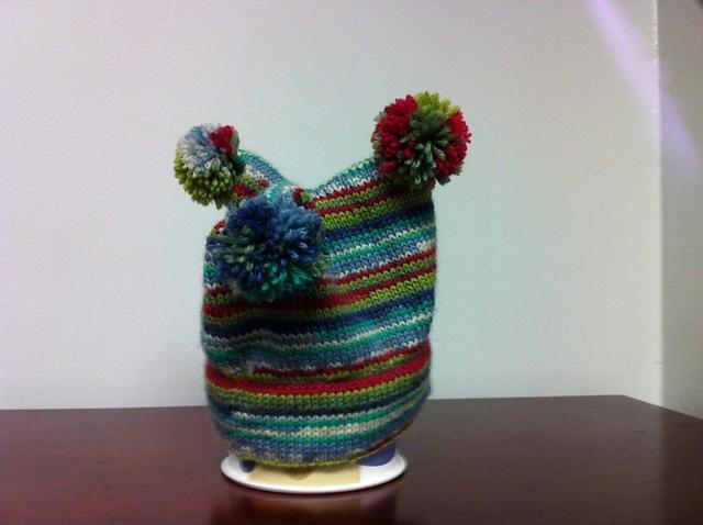 Crochet Patterns Using Charisma Yarn :  jellybean! Used Charlies Sock Yarn Hat pattern on Ravlery. Yarn ...