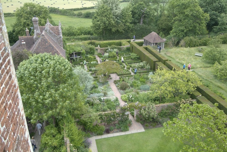English Garden Landscape aerial view Garden Ideas Pinterest