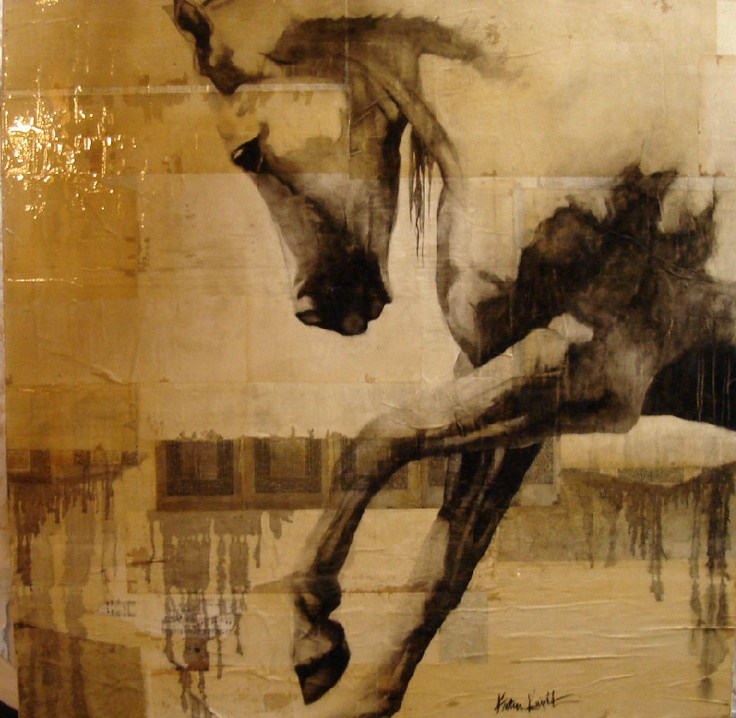 kristin knight equine art...