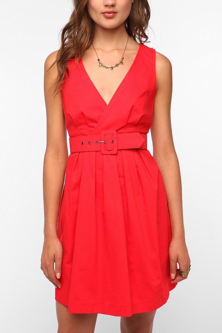 Belted Red Dress: Pretty Dresses, Red Dresses, Mary Dresses, Dresses Online, Dresses Repin By Pinterest, Dresses Gameday, Belts Red, Dresses Urbanoutfitt, Bb Dakota