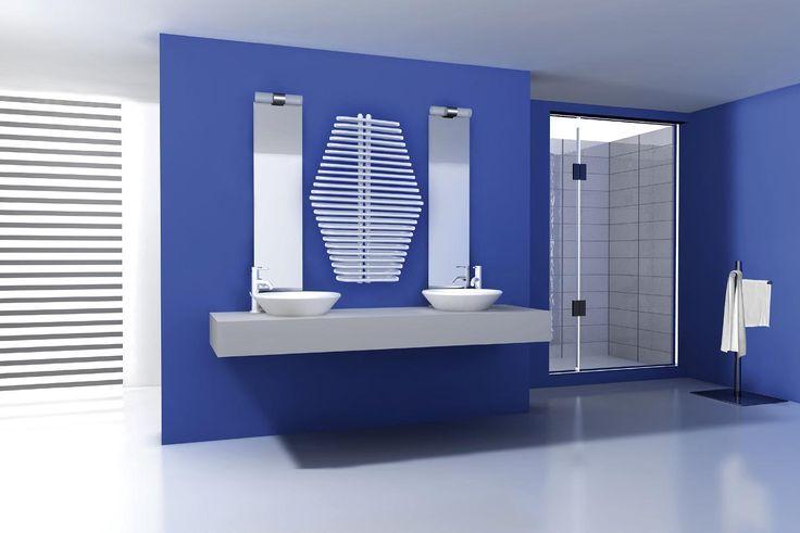 Grzejnik łazienkowy Design - Radeco - Diamantes